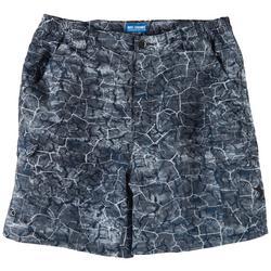 Mens Bonefish Crackle Print Shorts