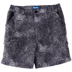 Reel Legends Mens Bonefish Scale Print Shorts