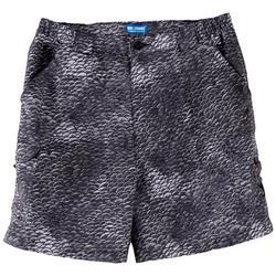 Mens Bonefish Scale Print Shorts