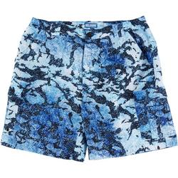 Mens Bonefish Granite Print Shorts