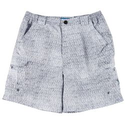 Reel Legends Mens Bonefish Rainbow Tarpon Shorts