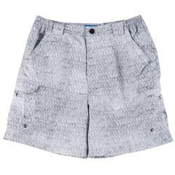 Mens Bonefish Rainbow Tarpon Shorts