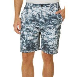 Mens Bonefish Aqua Palms Shorts