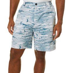 Reel Legends Mens Bonefish Swim Wahoo Shorts