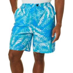 Reel Legends Mens Bonefish Trio Palms Shorts