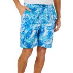 Mens Bonefish Palm Reflection Shorts