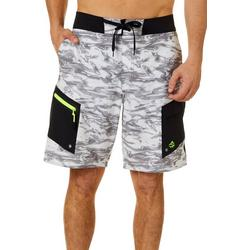 Mens Skyway Halftone Camo Boardshorts