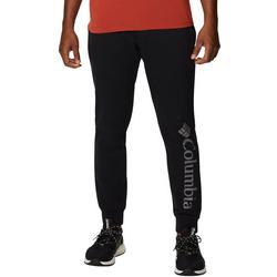 Mens Logo Fleece Jogger Pants