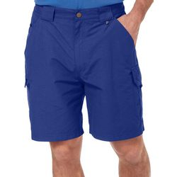 Reel Legends Mens Tarpon Quick Dry 7 Inch Cargo Shorts