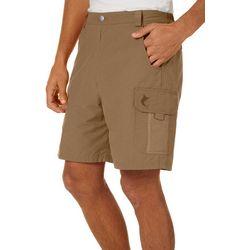 Reel Legends Mens Tarpon Quick Dry 7'' Cargo Shorts