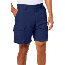Reel Legends Mens Sandbar Quick Dry UPF 9 inch Cargo Shorts