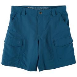 Mens Sandbar Quick Dry UPF 9 inch Cargo Shorts