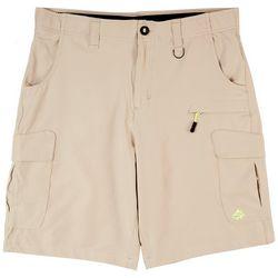 Loco Skailz Mens Harbor Performance Cargo Shorts