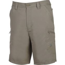 Hook and Tackle Mens Driftwood Stretch Hybrid Shorts