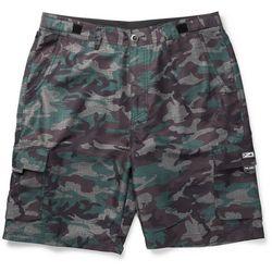 PELAGIC Mens Socorro Camo Fishing Shorts