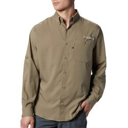 Columbia Mens PFG Bucktail Long Sleeve Shirt