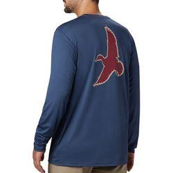 Columbia Mens PHG Terminal Shot Duck Long Sleeve T-Shirt
