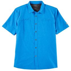 Hi-Tec Mens Bolton Woven Short Sleeve Shirt