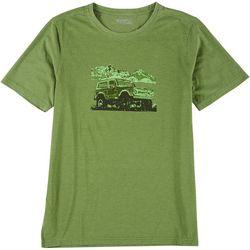 Hi-Tec Mens Short Sleeve Jeep Bluff Head Tee