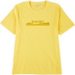 Hi-Tec Mens Short Sleeve Live Travel Trail Bluff Head Tee
