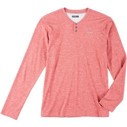 Hi-Tec Mens Sequoia Henley Long Sleeve Shirt