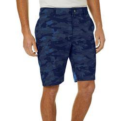 Hi-Tec Mens Camo Hybrid Cargo Shorts