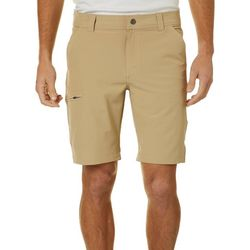 Hi-Tec Mens Solid Cargo Shorts