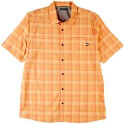 Hi-Tec Mens Printed Short Sleeve Shirt