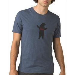 Prana Mens Journeyman Bear Squeeze Short Sleeve Shirt