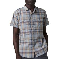 Mens Kirkwood Plaid Button Down Short Sleeve Shirt
