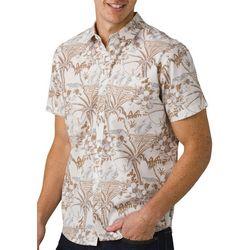 Prana Mens Stimmersee Short Sleeve Shirt