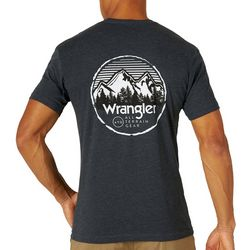 Wrangler Mens All Terrain Gear Logo T-Shirt