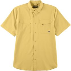 Mens Solid Short Sleeve Shirt