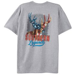 Southern Legends Mens True Colors Buck T-Shirt