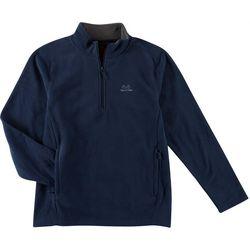 Realtree Mens Fleece Quarter Zip Pullover Sweater
