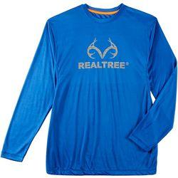 Realtree Mens Performance Long Sleeve T-Shirt