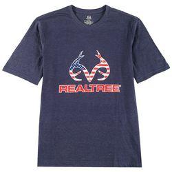 RealTree Mens Americana Logo T-Shirt