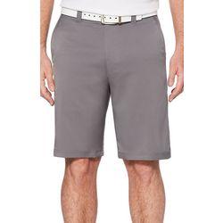 PGA TOUR Mens Flat Front Cargo Golf Shorts