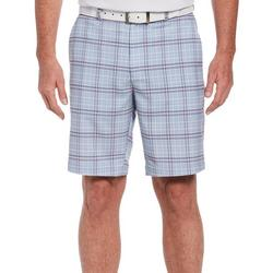 Mens Plaid Print Shorts