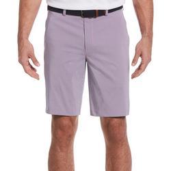Mens Mini Plaid  Print Shorts