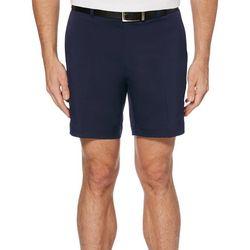 PGA TOUR Mens Active Waistband Flat Front Golf Shorts