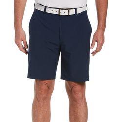 PGA TOUR Mens ECO Flat Front Dobby Active Waist Golf Shorts