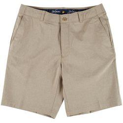 Jack Nicklaus Mens Heathered Print Shorts