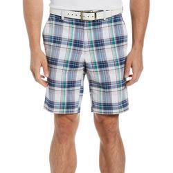 Mens Madras Plaid  Shorts