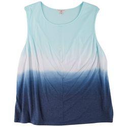 Fuda Plus Tie Dye Sleeveless Top