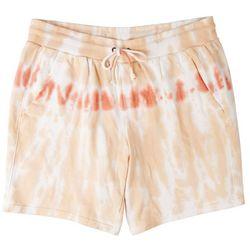 Fuda Plus Knit Tie Dye Bermuda Shorts