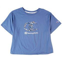 Champion Plus Classic Champion Cropped Logo T-Shirt
