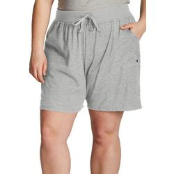 Womens Logo Pull On Cozy Active Shorts