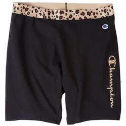 Champion Plus Authentic Leopard Waistband Shorts