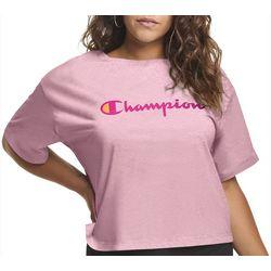 Champion Plus Cropped Logo T-Shirt